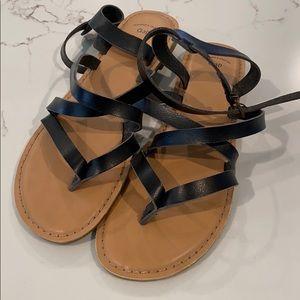 Gap ankle strap sandals size 9